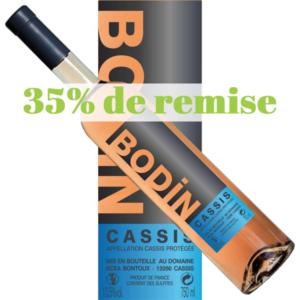 Promo Vin Cassis rosé Bodin