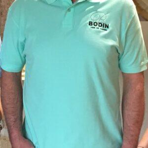 Polo vert zoom Cassis Bodin