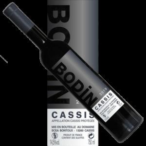 Rouge-vin-Cassis-Bodin-2019 étiquette