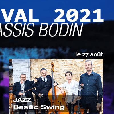 Bodin Cassis Jazz Festival basilic swing