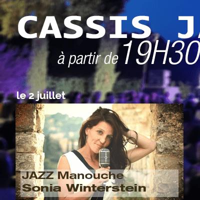 Bodin Cassis Jazz Festival Sonia Winterstein 4tet manouche