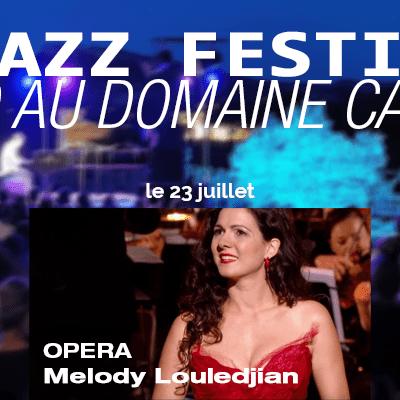 Bodin Cassis Jazz Festival opéra soprane Melody Louledjian
